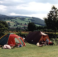Hay on Wye Camping
